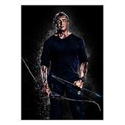 Портретный постер Rambo